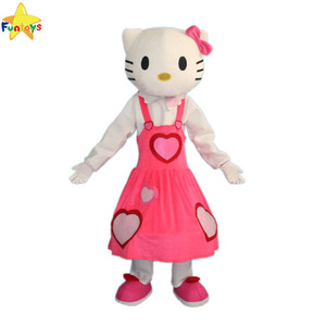 Funtoys CE hot selling kitty cat mascot costume for activity