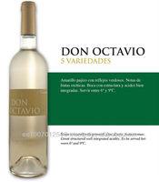 Spanish Don Octavio Young White Wine - 5 Varieties