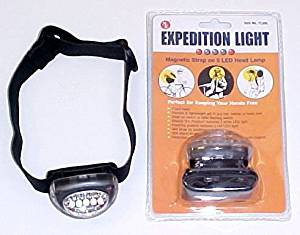 Hikers Hands Free 5 Led Headlight Light Hiker Light Headlight Led Headlight Kits Led Lights Headlights