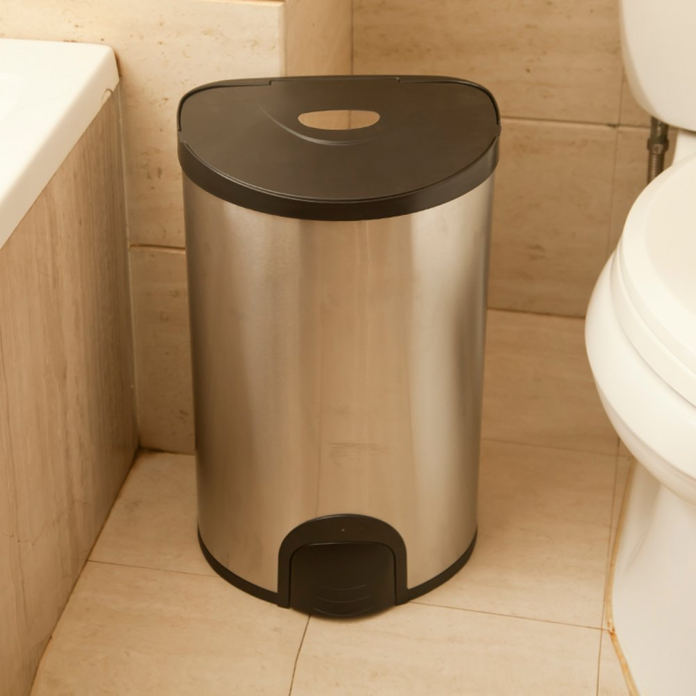 Creative simplicity home smart trash/ living room/kitchen garbage can/bin/ bathroom trash can