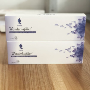 Injectable cross linked hyaluronic acid fillers 1ml syringe