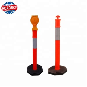 Reflective Traffic Delineator 115 Warning Posts