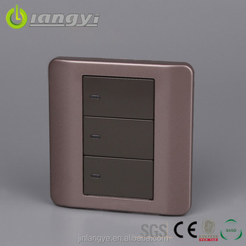 Professional Design Save Power Wall Switches In Pakistan With Led