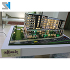 Architectural model 3d rendering design for construction , scale building models
