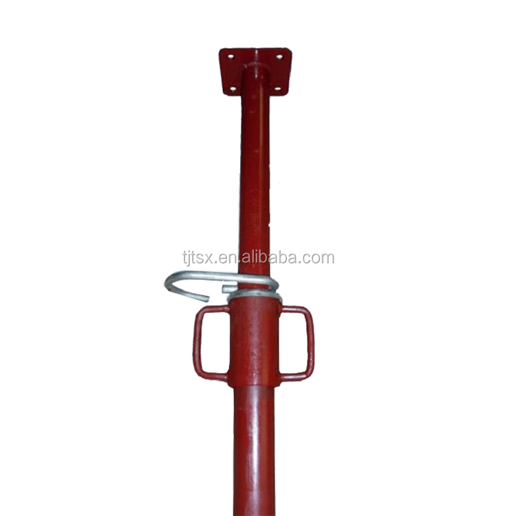 Q235 light /heavy duty painted/scaffolding adjustable steel prop for formwork system