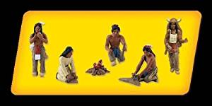 Woodland Scenics Scene-A-Rama Scene Setters - Native Americans