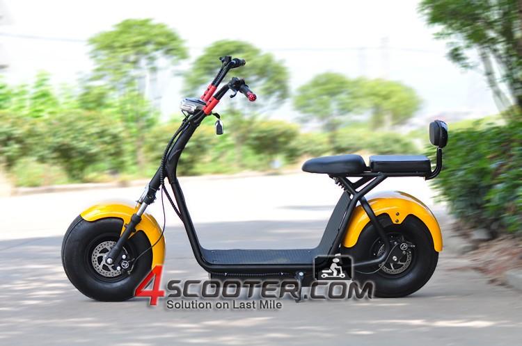 1000w 1500w City Coco Bike Scooter Fat Tire Electric
