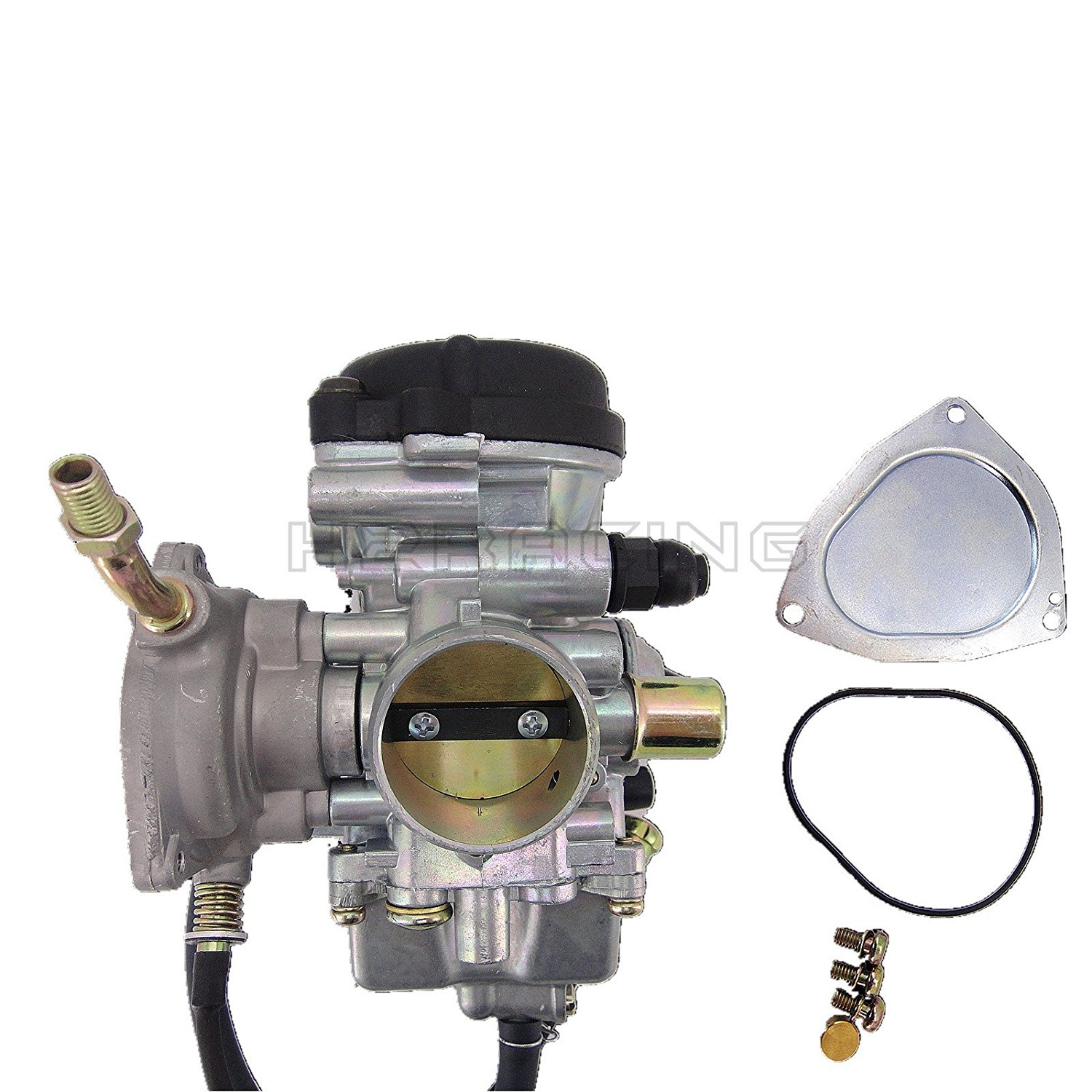 ATV Carburetor Assembly Compatible for Yamaha Big Bear 400 /& Kodiak YFM 400 /& Grizzly 350 450 /& Wolverine 350 450 4x4