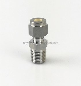 ss316 NPT fitting male thread Union for gas or liquid