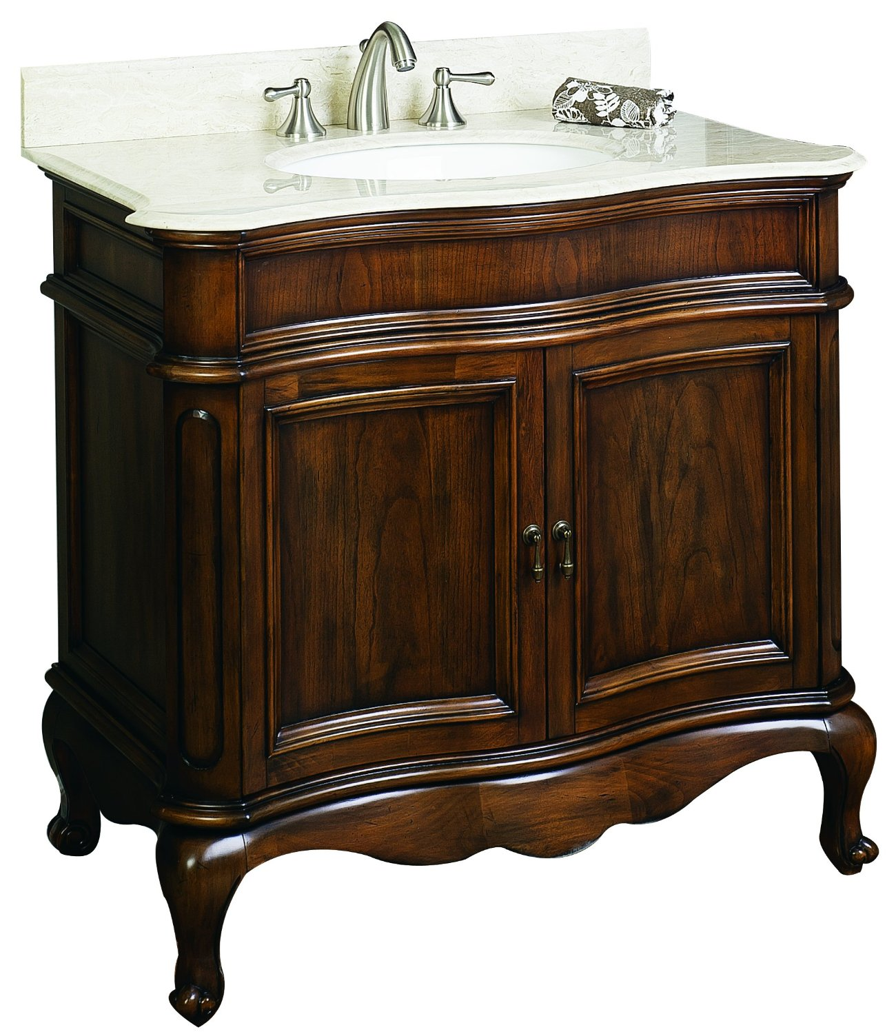 Get Quotations · American Imaginations AI-1005-3 Traditional Birch  Wood-Veneer Vanity Base, 36 - Cheap Antique Mahogany Vanity, Find Antique Mahogany Vanity Deals On