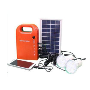 Hinergy professional solar energy system for lights 3W 9V indoor home solar lighting system for home use