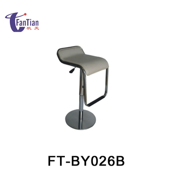 italy bar chair with leather seat metal folding bar chair
