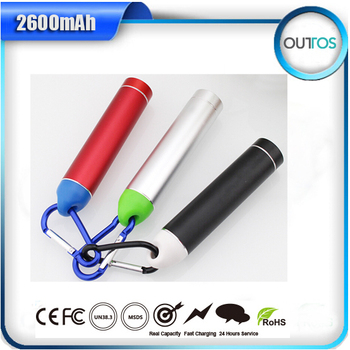 best gifts cylinder 2600mah new portable charger power bank