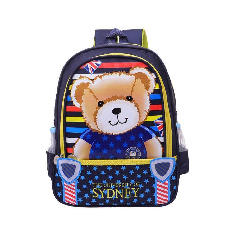 Backpack children korean version of the animal cartoon school backpack
