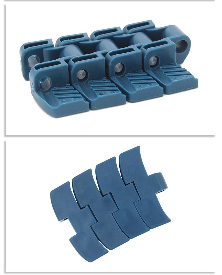 H1060 Food grade PP material flat top plastic modular belt for conveyor machine