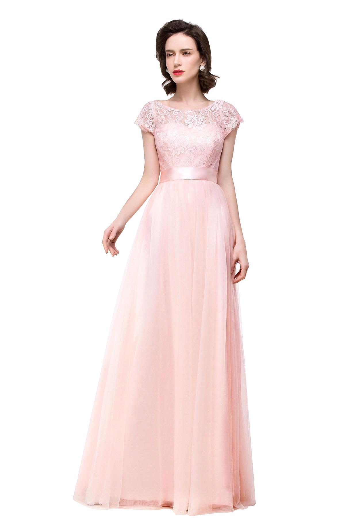 online get cheap blush pink bridesmaid dress aliexpress. Black Bedroom Furniture Sets. Home Design Ideas