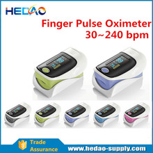 China Supplier fingertip pulse rate oximeter medical
