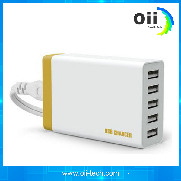 More than 6 intelligent equipment factory outlet port USB travel charger for rapid for apple Android