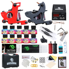 Tattoo Supplies all'ingrosso Kit <span class=keywords><strong>Tatuaggio</strong></span> <span class=keywords><strong>A</strong></span> <span class=keywords><strong>Buon</strong></span> <span class=keywords><strong>Mercato</strong></span> Due Pistola Del <span class=keywords><strong>Tatuaggio</strong></span> Ali-30