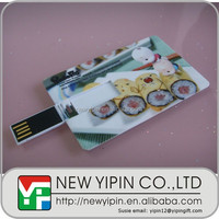 OEM ODM manufacturer logo printing id card usb 2.0 with free logo