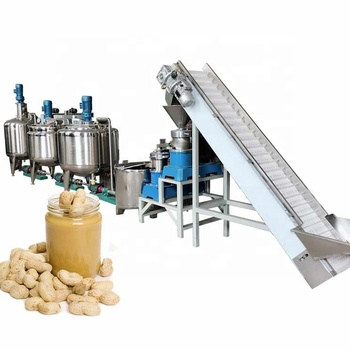 peanut butter making line machine sesame paste processing line