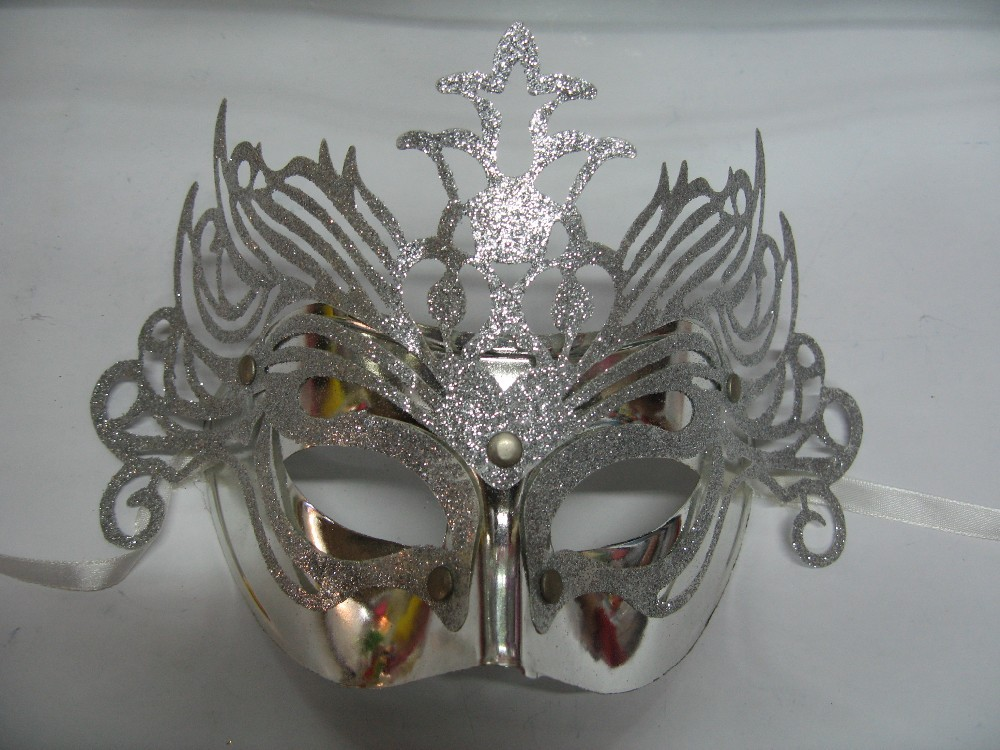 cheap and hot powder peel off face mask silver his and hers masquerade masks