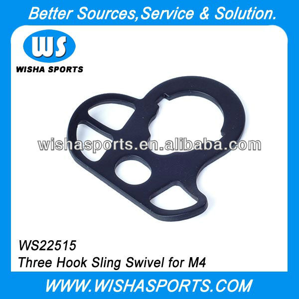 Three Hook Tactical AEGs Sling Swivel for M4