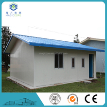easy build low cost steel structure prefab cabin house kit