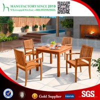 Teak wood dining table outdoor patio furniture