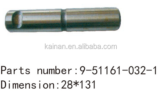 size 28 * 131 oem 9511610321 9-51161-032-1 truck SPING PIN