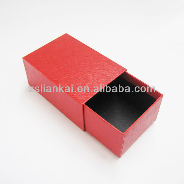 Red paper drawer box for Chinese tea packing