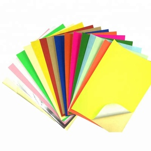 bright color A4 size Sticker paper factory low price