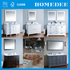 Homedee wood doors designs classic bathroom cabinet and vanity