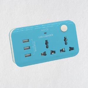 USB Quick Charge Smart UK Extension Sockets 2 Outlet Outdoor Power Strip