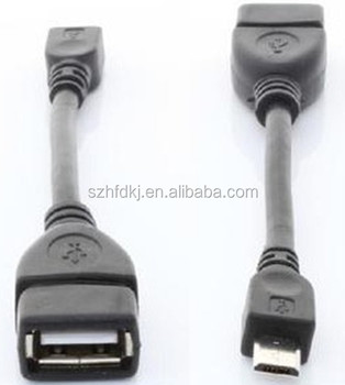 China Supplier High Speed Black 12cm Usb 2 0 Micro Usb Cable For ...