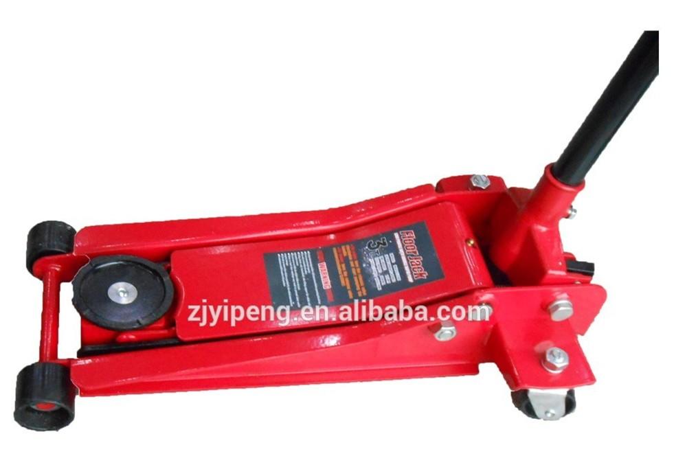 3 Ton Low Profile Single Pump Car Lift Hydraulic Floor Jack With Wheel