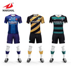 New product wholesale dry fit shirts Custom boys soccer jersey sportswear men clothes sublimation printing striped football kit
