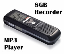 Hidden voice recorder PRO 8GB 650Hr USB Digital Audio Voice Telephone Recorder Dictaphone MP3 Player Free Shpping