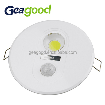 low priced 3892a 461f0 Geagood Motion Sensor Led Recessed Light Led Downlight 7w - Buy Motion  Sensor Led Recessed Light,Led Downlight,Outside Security Lighting Product  on ...