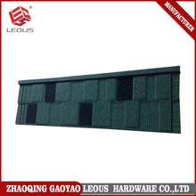 Heat resistant durability decorative metal roofs
