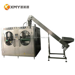 Pet / glass bottle carbonated soft drink water filling machine carbnated making machine