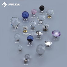 Filta furniture hardware small accessories crystal door cabinet knob 1563