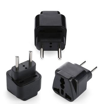 Mini Uk Au Us To Europe Travel Adapter Universal Eu Plug Converter