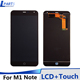 For M1 Note mobile phone LCD touch screen display mobile phone accessories mobile phone digitizer assembly for Meizu M1 Note