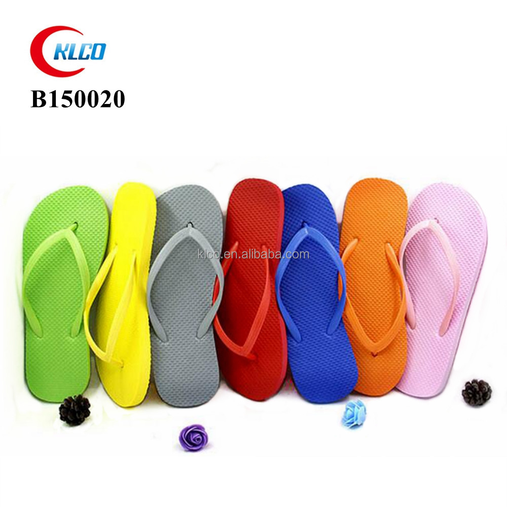 cheap wholesale unisex custom printed pe flip flops