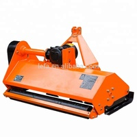 Heavy duty tractor PTO hammer blade flail mower