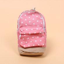 1 шт., милый пенал в горошек для мальчиков, тканевая Сумочка для ручек и карандашей, коробка для девочек, офисные школьные принадлежности, кор...(Китай)