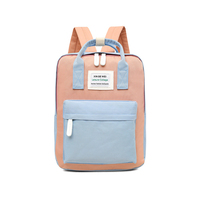 2019 Promotion Red Color Wholesale Oxford Child School Bag For University Students