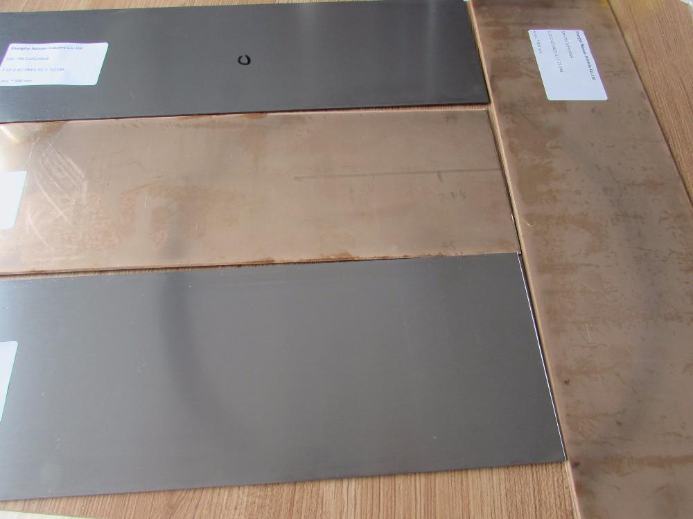 Bimetaal beklede platen fabricage koper beklede stalen plaat in China
