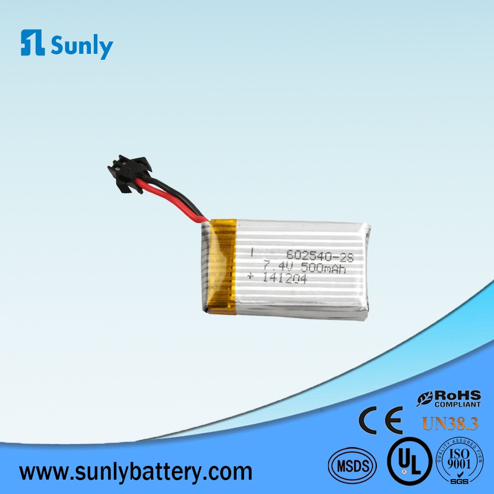 902540 700mah 3.7v Factory direct sale OEM rechargeable lipo battery